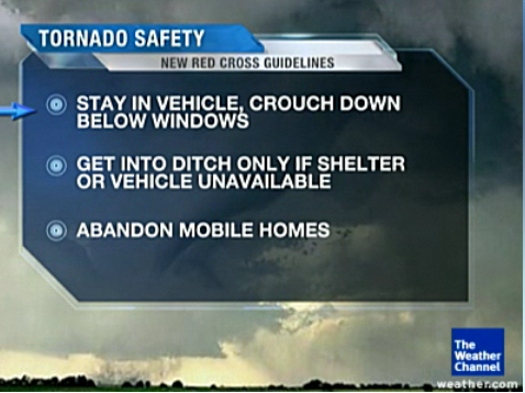 American Red Cross updates tornado safety guidelines for driving